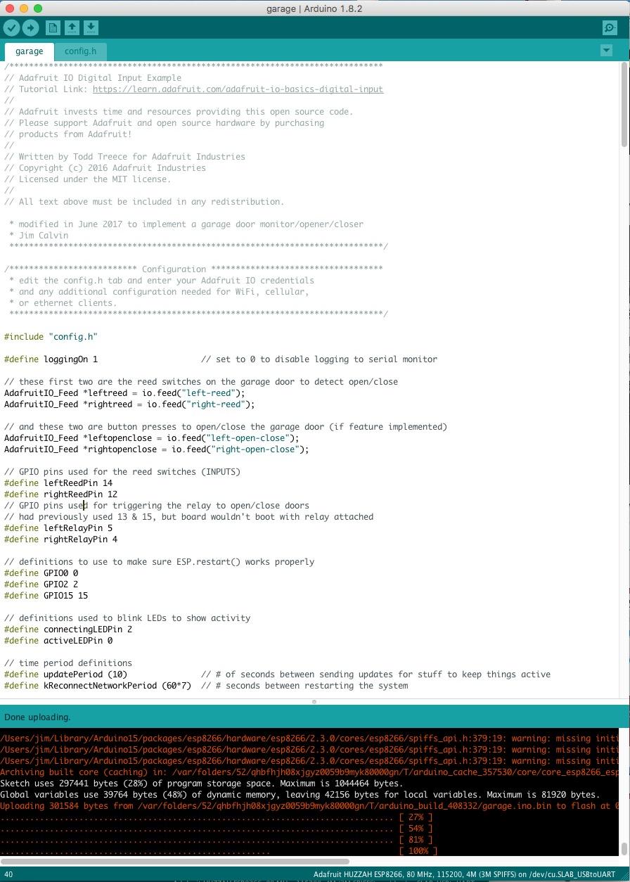 Software - HUZZAH
